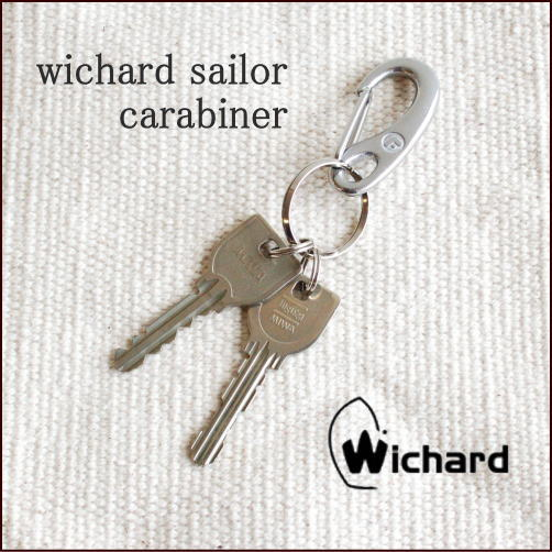 【メール便送料無料】【Wichard/ウィチャード】wichard sailor carabiner S/ウィチャード セイラー カラビナ Sサイズ 【キーリング キーホルダー ヨットツール】セーラー 雑貨  10P18Jun16
