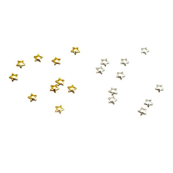 レジンやネイルアートに!スタッズっぽい小さめパーツ 星形 Sサイズ(3mm) スター【RCP】