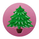 (S462) ファンシー シリコンモールド モミの木 クリスマスツリー X'mas レジンに