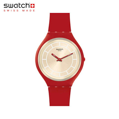 【公式ストア】Swatch スウォッチ SKINHOT スキンホット SVUR100Skin(スキン) Skin Big(スキンビッグ) 【送料無料】(素材)ベルト:ファブリック/レザー/ケース:プラスチックメンズ/レディース/腕時計/人気/定番/プレゼント