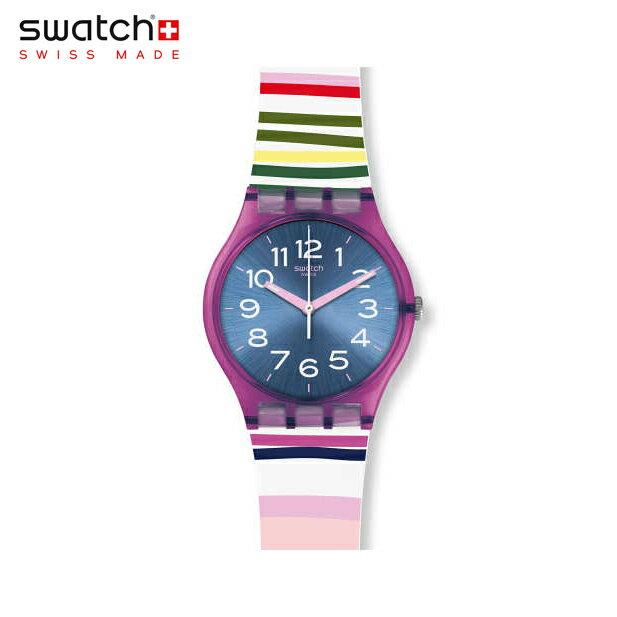 【公式ストア】Swatch スウォッチ FUNNY LINES ファニー・ライン GP153worldhood(worldhood) Gent(ジェント) 【送料無料】(素材)ベルト:シリコン ケース:プラスチックレディース 腕時計 人気 定番 プレゼント