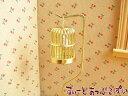ミニチュア 金のバードケージ 小鳥&スタンド付き NY30088 ドールハウス用