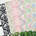 カットクロスセット YUWA 「 ヨーロピアンダマスク カットクロス6色セット 」 生地 花柄 北欧 モロッカン