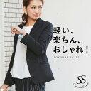 ジャケット レディース ノーカラー 仕事 ママ スーツ 卒業...