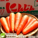 北海道富良野産 低農薬栽培 最高級ニンジン 10kg(SサイズからLサイズ込) 【送料無料