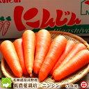 北海道富良野産 低農薬栽培 最高級フルーツニンジン 5kg(SサイズからLサイズ込) 【送