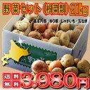 【激安!】富良野産 メガ盛り 野菜セット(じゃがいも・ユリ根・玉ねぎ) 20kg以上 【送料無料】  【RCP】【05P09Jul16】