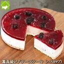 チーズケーキ 送料無料 富良野 レアチーズケーキ (ハスカップ) ギフト配送可能 別途送料が発生する地域あり