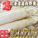 ご予約販売 白い貴婦人こと高級食材ホワイトアスパラ最高品質の秀品2L〜L 1kg 【送料無料】【RCP】【10P03Dec16】