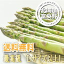 【ご予約販売】北海道富良野産 最高級グリーンアスパラ秀品【Lサイズ以上1kg】 【送料無料】【10P03Dec16】
