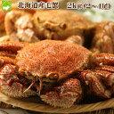 北海道産 最高級 毛蟹 2〜4尾入 約2kg詰 送料無料