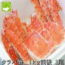 ショッピングタラバガニ 本たらば蟹(タラバガニ)オス 1kg前後 【ボイル急速冷凍】