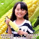 【生】で食べれるトウモロコシ 北海道富良野産 恵味【Lサイズ...