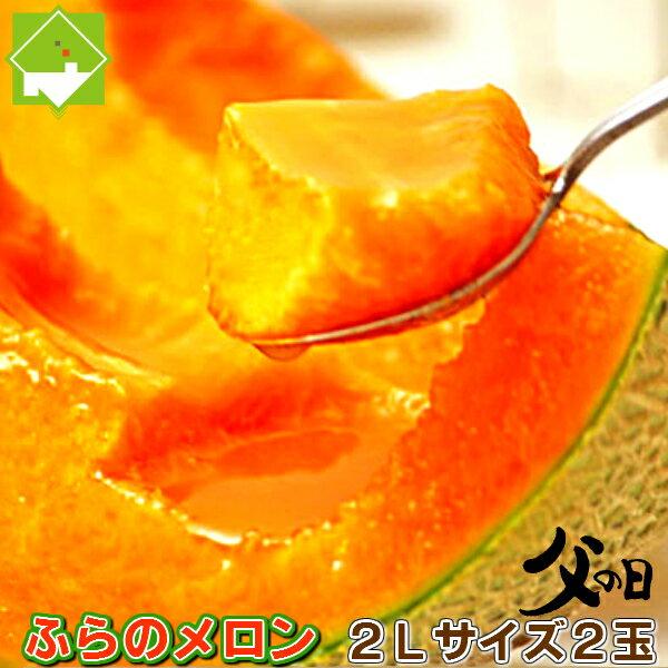 【父の日配送】北海道富良野産 ふらのメロン 2L...の商品画像