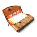 木と革で作った フィッツ専用ケース Fit's キーケース兼用 お菓子ケース 日本製 ハンドメイド