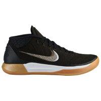 (取寄)ナイキ メンズ バッシュ コービー A.D. コービー ブライアント バスケットシューズ Nike Mens Kobe A.D. Kobe Bryant Black Metallic Gold Anthracite Light Gumの画像
