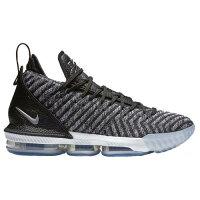 (取寄)ナイキ メンズ レブロン 16 レブロン ジェームズ Nike Mens LeBron 16 Lebron James Black White Greyの画像