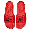 ショッピングベナッシ NIKE ナイキ サンダル ベナッシ JDI テキスト SE Nike Men's Benassi JDI Text SE Bright Crimson Black