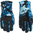 (取寄)ノースフェイス メンズ メンズ デナリ イーチップ グローブ The North Face Men's Denali Etip Glove Clear Lake Blue Digi Topo Print