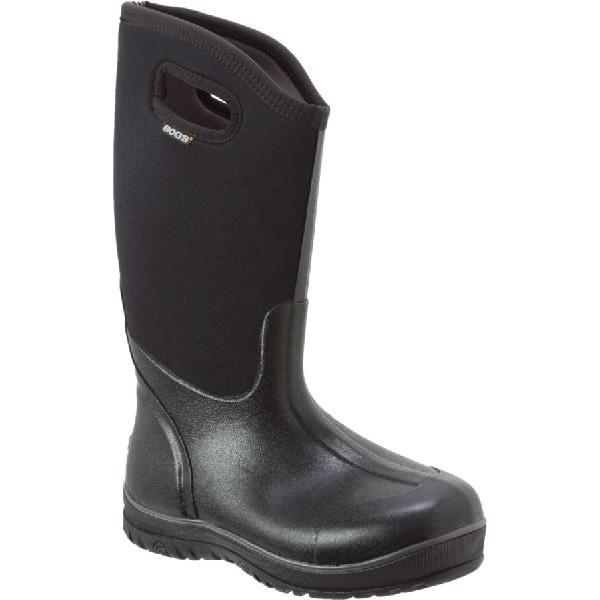 (取寄)ボグス レディース ウルトラ ハイ ブーツ Bogs Women Ultra High Boot Black 【コンビニ受取対応商品】 【トレッキング クライミング アウトドア 登山靴】 【レディース シューズ ブーツ 大きいサイズ】
