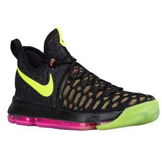 (得到 CDN) NIKE 耐克男士 KD 9 籃球鞋凱文 · 杜蘭特耐克男士 KD 9 多色 02P03Dec16