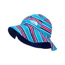 (取寄)ノースフェイス ベビー ブリマー ハット The North Face Baby Brimmer Hat Meridian Blue Painted Stripe Print