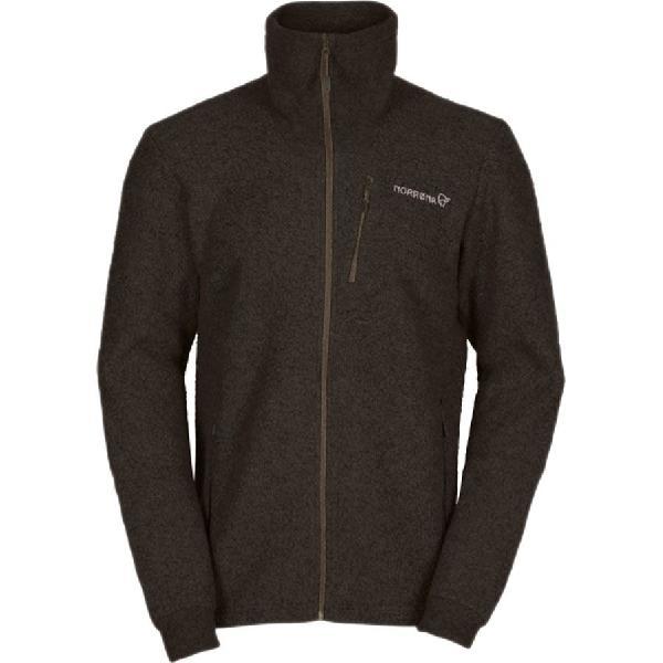 (取寄)ノローナ メンズ スヴァールバル ウール ジャケット Norrona Men's Svalbard Wool Jacket Brown Sugar 【コンビニ受取対応商品】