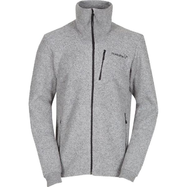 (取寄)ノローナ メンズ スヴァールバル ウール ジャケット Norrona Men's Svalbard Wool Jacket Concrete 【コンビニ受取対応商品】