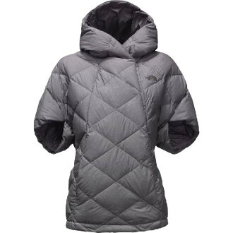 (索取)北臉女士Sfar諾森披肩讓The North Face Women Far Northern Capelet Tnf Medium Grey Heather