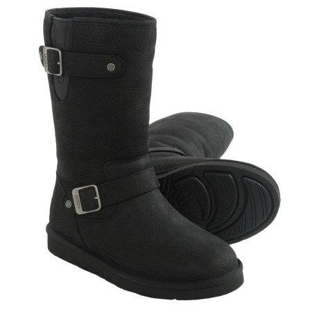 (取寄)UGG アグ オーストラリア レディース ブーツ サッター UGG Women Sutter Boots Black 【コンビニ受取対応商品】