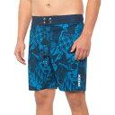 (取寄) メンズ オールオーバー ゲオ スイム ショーツ RBX men RBX Allover Geo Swim Shorts (For Men) Blue