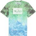 エルアールジー メンズ リサーチ コレクション ルーツ ピープル サブリメイテッド シャツ LRG Men's Research Collection Roots People Sublimated Shirt Kelly【目玉商品】