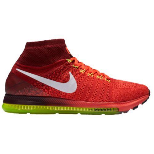 (取寄)Nike ナイキ メンズ ズーム オール アウト フライニット スニーカー ランニングシューズ Nike Men's Zoom All Out Flyknit Bright Crimson White Team Red Volt
