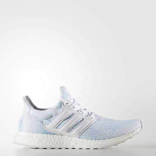 (取寄)アディダス レディース ウルトラブースト パーレイ バスケットボールシューズ adidas Women Ultraboost Parley Shoes Running White / Running White / Icey Blue