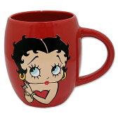 【Betty 16oz. マグカップ】Betty Boop ベティ ブープ キャラクター キッチン グッズ 雑貨 マグカップ マグ USA 直輸入