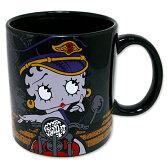 【Betty 14oz. セラミックマグカップ】Betty Boop ベティ ブープ キャラクター キッチン グッズ 雑貨 マグカップ マグ USA 直輸入