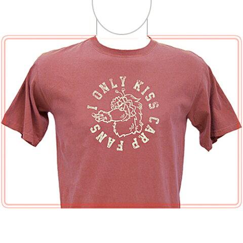【カープ スライリー ピグメント Tシャツ レッドロック】カープグッズ CARP カープ グッズ 広島 東洋 公認 ファッション