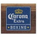 ウッド&ティン サイン CORONA EXTRA BOXING CA213690
