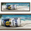 キャンバス フレーム アート CORONA EXTRA BOTTLE GLASS CA213696
