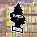 リトルツリー (Little Tree) シーリング サイン(S)ブラック・アイス LT-SK-SS001