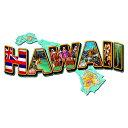 【スティール サイン Hawaii Landmarks】ルート66 ストリート ステート 壁掛け 看板 インテリア 雑貨 USA 直輸入
