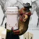 ウエスタン フィギュア & インテリア アルマジロ ワインボトル デコレーション RA9302