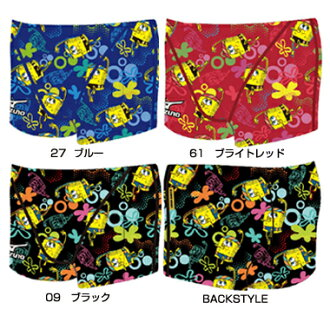 85RP-375 mizuno Mizuno SpongeBob SpongeBob ExerSuits exe suit mens men's practice for swimwear swimming swimsuit short spats practice swimwear fs3gm