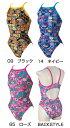 【あす楽対応】N2JA4778 mizuno ミズノ SpongeBob スポンジボブ ExerSuits エクサースーツ レディース 女性用 練習用水着 競泳水着 ミディアムカット 練習水着