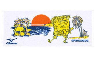 海綿寶寶海綿鮑勃現在,N2JY509201 美津濃美津濃體育毛巾、 毛巾