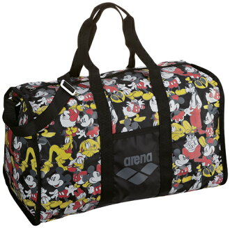 DIS-3363 arena arena disney disney Mickey ミニー Donald delivery bag Boston bag swimming swimming BLK fs3gm