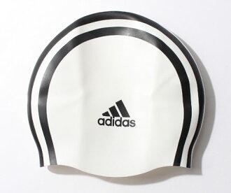 802309 阿迪達斯阿迪達斯游泳帽游泳帽矽膠帽 3 主要游泳帽游泳