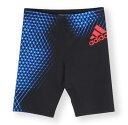 【あす楽対応】Oサイズのみ!AB9498 adidas アディダス フィットネス水着 メンズ 男性用 ハーフスパッツ 水泳 水着