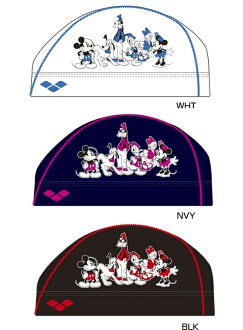 DIS-3361 arena arena disney disney Mickey ミニー Donald swimming cap swimming cap mesh cap swimming swimming race fs3gm