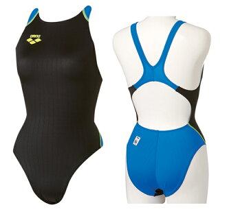 FAR-2503WN arena arena X-PYTHON ( x-Python ) ladies women's swimming swimsuit remixing highleg racing swimsuit fs3gm